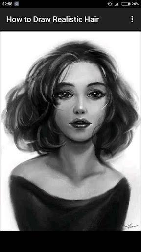 How to Draw Realistic Hair  screenshots 10