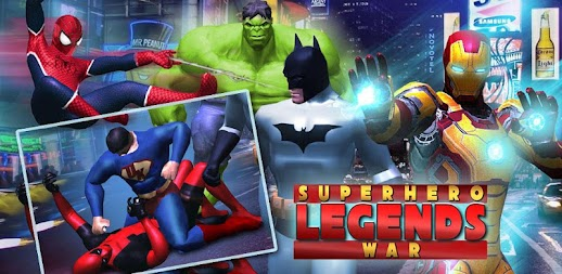 Superhero Legends War : Fighting Injustice Game APK