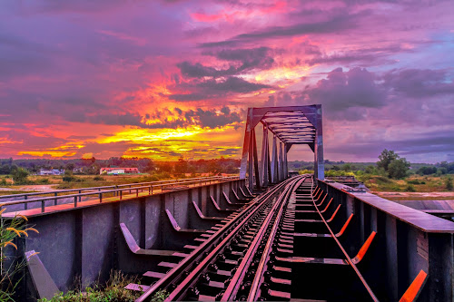 by Ronnel Masangkay - Buildings & Architecture Bridges & Suspended Structures ( landmark, travel, bridge, color, colors, landscape, portrait, object, filter forge, silhouette,  )