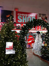 """Photo: Loved the big signage """"Christmas Shop"""", we knew just where to go."""
