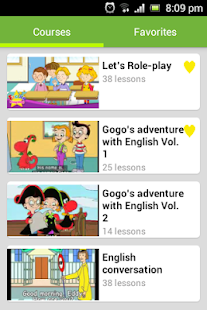 English Conversation for Kids Screenshot