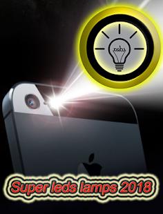 Super leds lamps flashlight 2018 - náhled