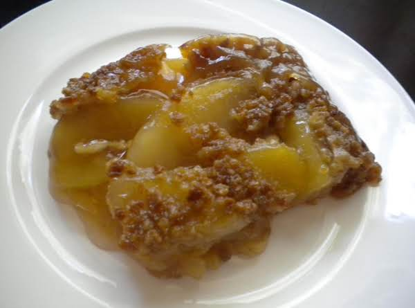 Nan's Apple Cobbler With Maple Grape Nut Topping
