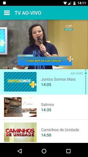 TV Canção Nova 2.8.8 screenshots 1