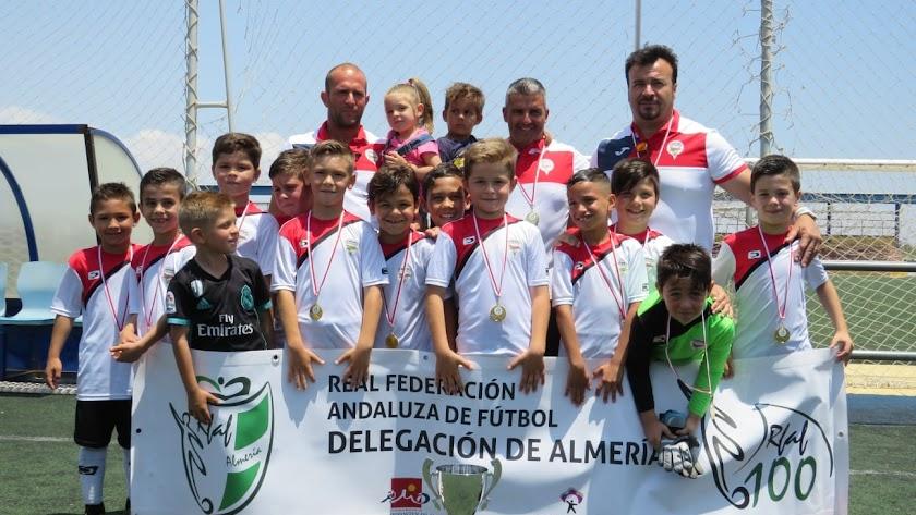 Celebración del título en La Cañada.