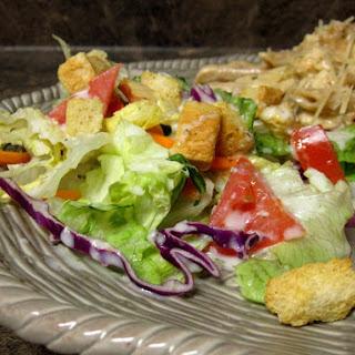 Homemade Olive Garden Salad and Dressing