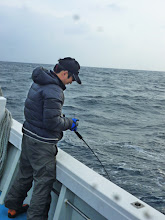 """Photo: 昨日に続き、本日もご乗船頂きました""""ササノさん""""!"""