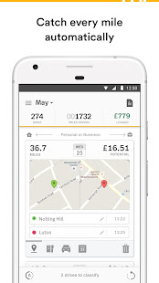 MileIQ Mileage Tracker For Business Apps On Google Play - Google maps mileage tracker