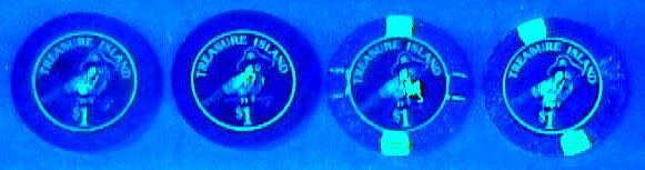 Photo: UV Markings Casino Chips
