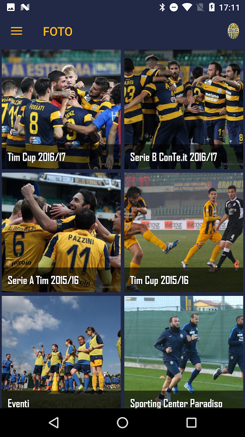 Hellas Verona FC- screenshot