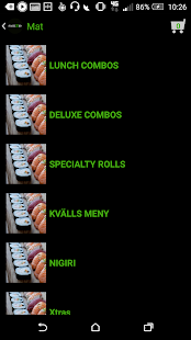 sushi2go- screenshot thumbnail