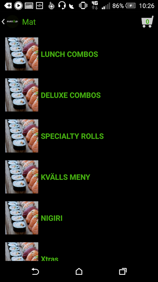 sushi2go- screenshot