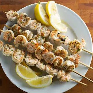 Lemon-Herb Grilled Shrimp.