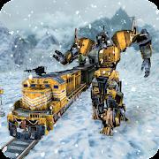 Futuristic Train Super Robot Transformation Game APK