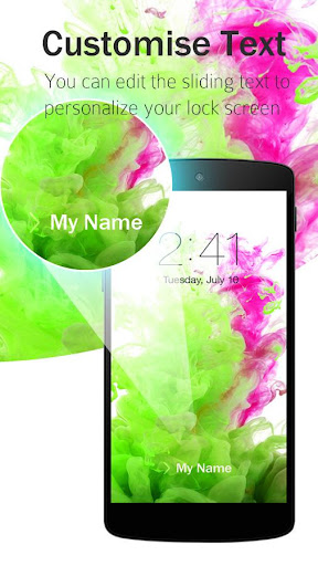 Lock Screen LG G3 Theme screenshot 13