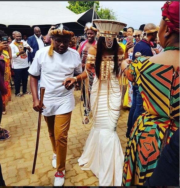 e692a62481078 Khaya Mthethwa and Ntando Kunene s traditional wedding