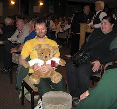 Photo: Bart the bear (new club mascot?)