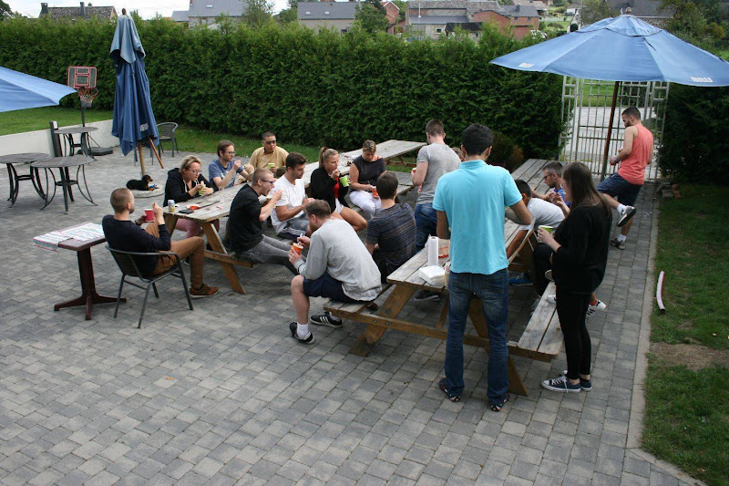 De Kansel Team Building Weekend Rochefort 2017/09