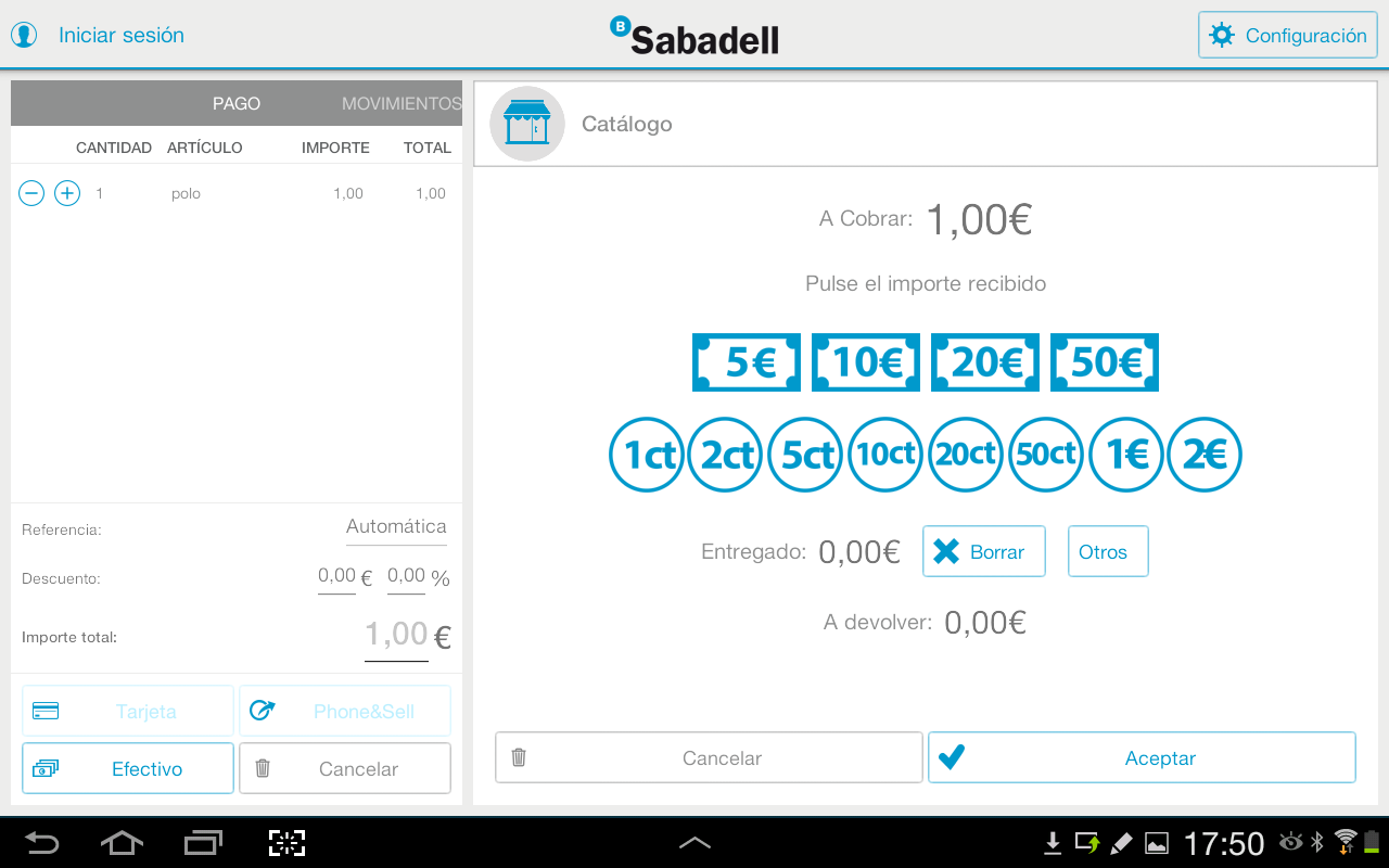 Tpv m vil sabadell android apps on google play - App sabadell movil ...