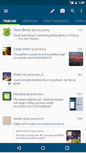 UberSocial for Twitter Screenshot