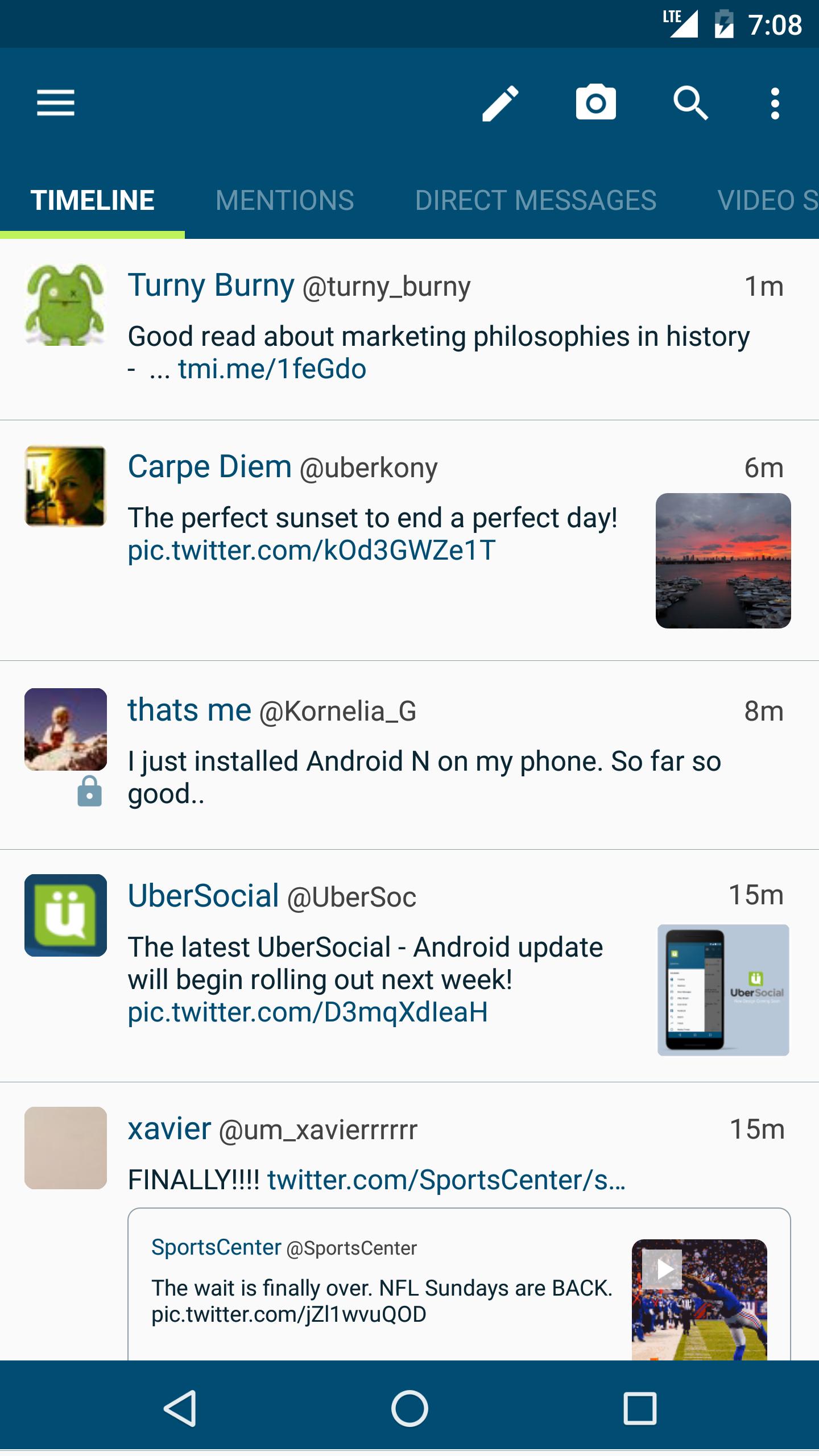 UberSocial for Twitter screenshot #1
