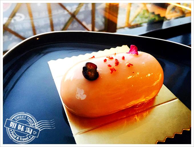 姍姍來食-紅芭樂白巧克力蛋