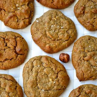 Hazelnut Butter Cookies.