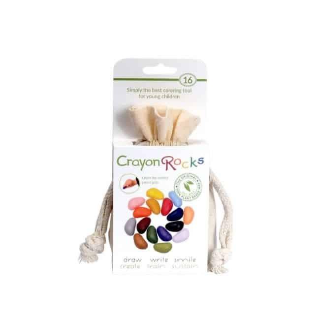 Crayon rocks, giftfria kritor, 16-pack