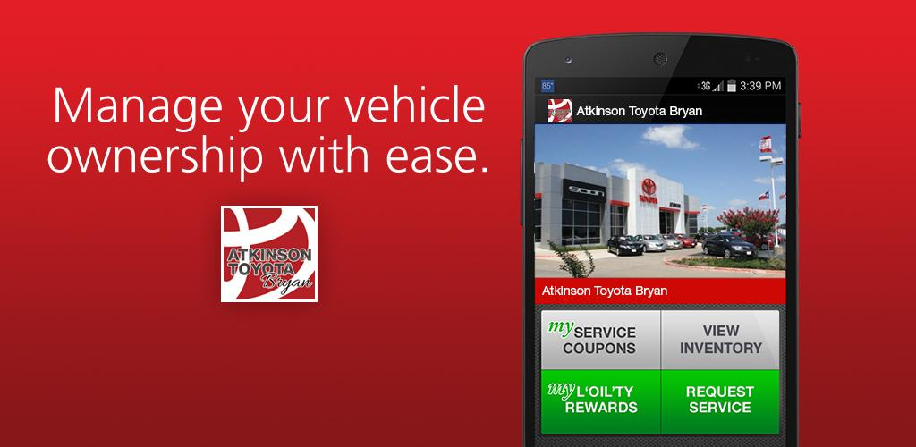 Atkinson Toyota Bryan >> Download Atkinson Toyota Bryan Apk Latest Version 1 17 0 For