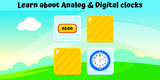 Telling Time Games For Kids - Learn To Tell Time 1.0 screenshots 1
