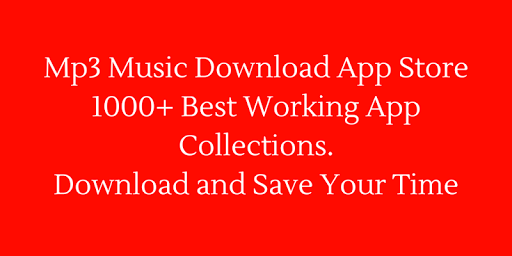 free mp3 download app store