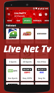Live Nettv APK Latest Version Download - Free Entertainment