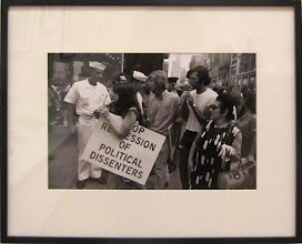 Photo: Garry WINOGRAND - Political demonstration New-York 1969