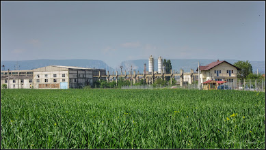 Photo: Turda - Str. Ion Agârbiceanu, vedere panorama, poligon de prefabricate a Santierului 2 de cConstructii de pe Str. Mihai Viteazul - 2018.04.28