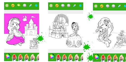 Descargar Dibujos Para Colorear Princesa Para Colorear Para Niños