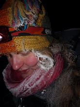 Photo: Lu na ski-turach zbiera Lu-d