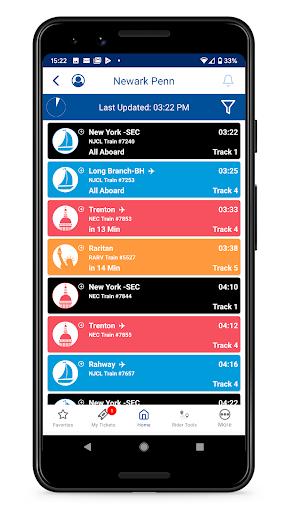 NJ TRANSIT Mobile App 2019.1.0 screenshots 4