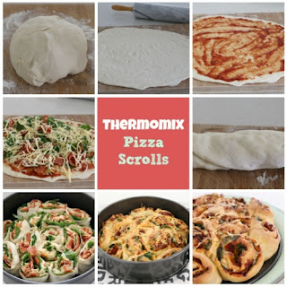 Thermomix Pizza Scrolls Recipe