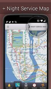 MyTransit NYC Subway Real Time- screenshot thumbnail