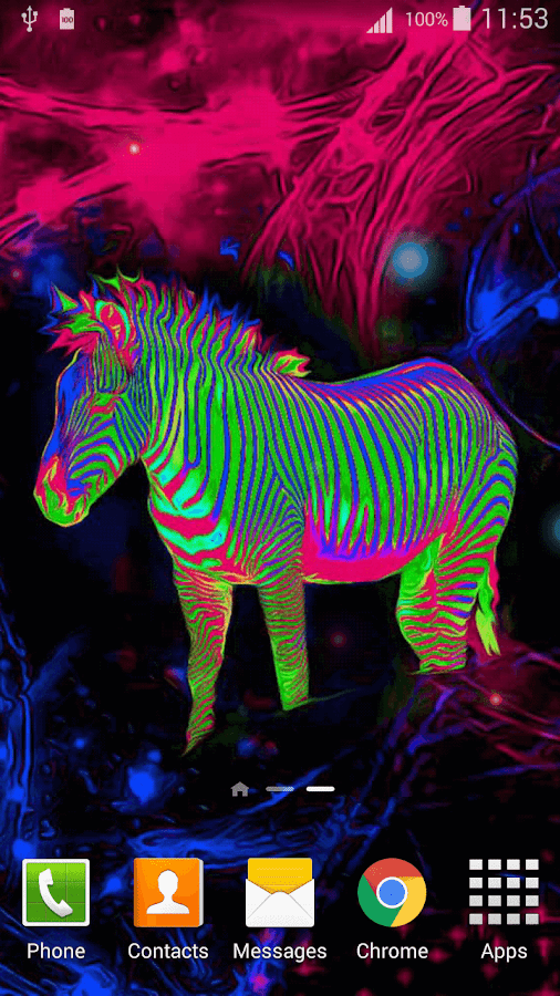 3d Live Wallpaper Parallax Neon Animals Wallpaper Android Apps On Google Play