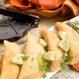 Easy as Pie Chicken Empanada.