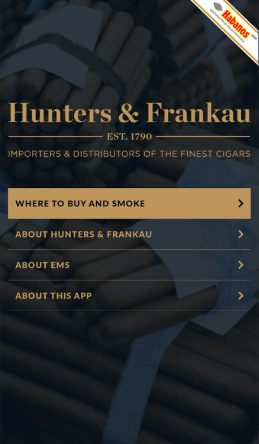 H&F Cigars- screenshot