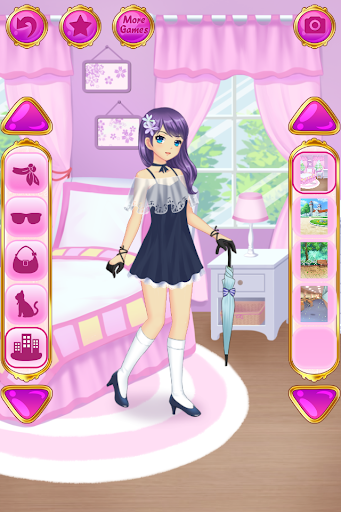 Anime Dress Up - Games For Girls  {cheat|hack|gameplay|apk mod|resources generator} 4