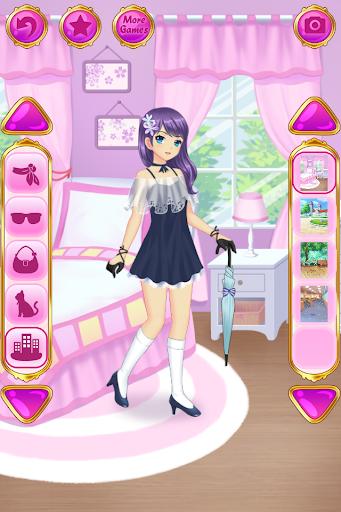 Anime Dress Up - Games For Girls 1.1.7 screenshots 4