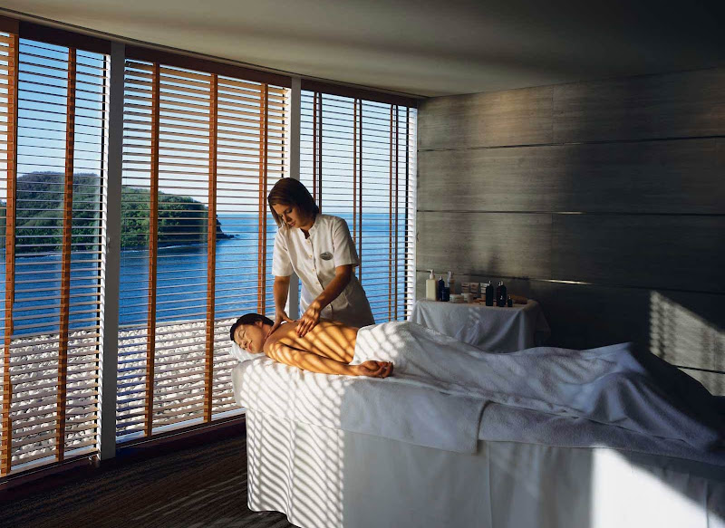Time to recharge: Let a relaxing massage take you away while you vacation on your Crystal cruise.