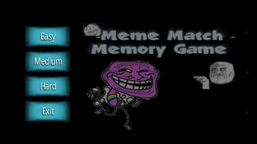 Memes Memory Puzzle Game