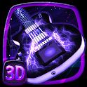 3D Acoustic Electric Guitar Theme icon