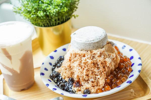 南京復興最夯的排隊文青冰店|春美冰菓室、珍珠奶茶冰、芋頭牛奶冰、限定芒果冰、芋泥牛奶