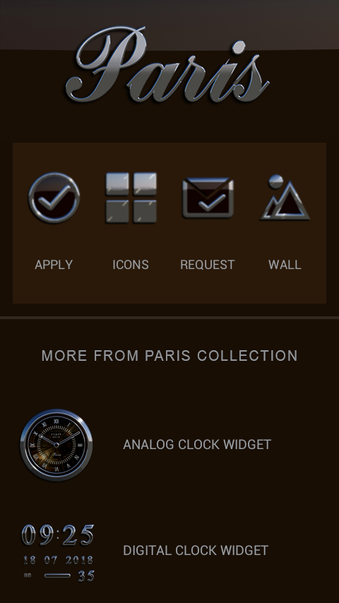 PARIS Icon Pack- screenshot
