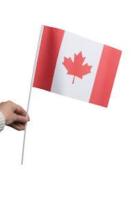 Pappersflagga, Kanada